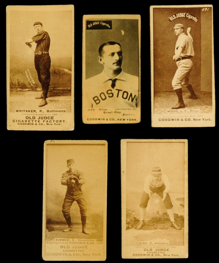 1880s Old Judge Cards