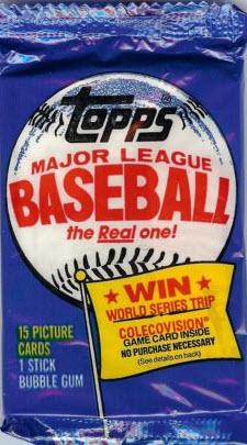1983 Topps Michigan test pack