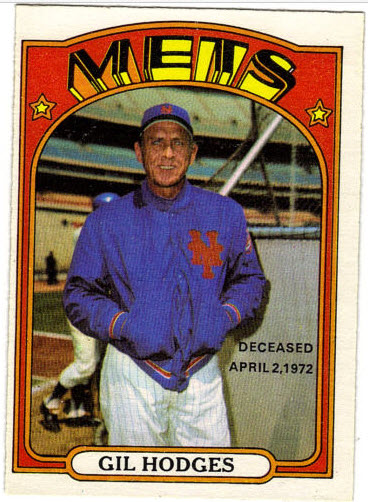 Gil Hodges 1972 OPC