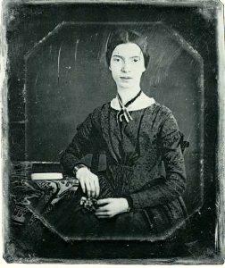 1846-7 Daguerreotype of poet Emily DIckinson