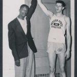Wade Halbrook-Bill Russell 1955 NCAA Western Regional