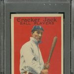 Ty Cobb 1914 Cracker Jack PSA 8.5