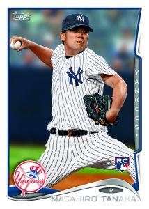 Masahiro Tanaka rookie card