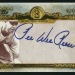 Pee Wee Reese autograph 2013 Topps Five Star