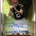 Money Manziel 2014 Topps Chrome Football
