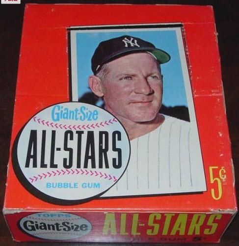 1964 Topps Giants box