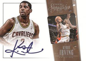Kyrie Irving Signatures 2013-14 Panini