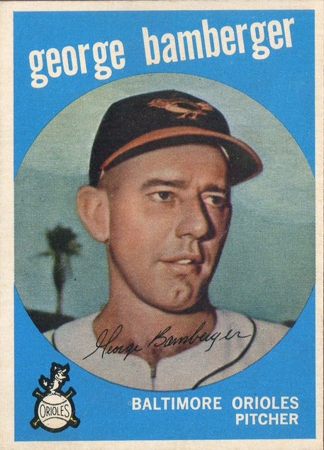 George Bamberger 1959 Topps