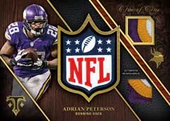 NFL logo Adrian Peterson 2014 Triple Threads