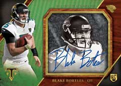 Blake Bortles football card 2014 Topps Transparencies