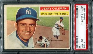 1956 Topps Jerry Coleman