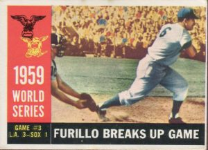Furillo World Series card 1960 Topps