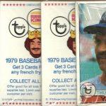 Burger King Yankees 1979 packs