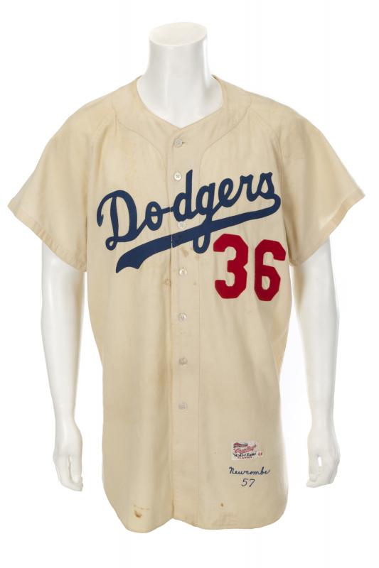 1957 Dodgers jersey Don Newcombe