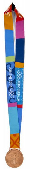 Athens Olympic bronze medal