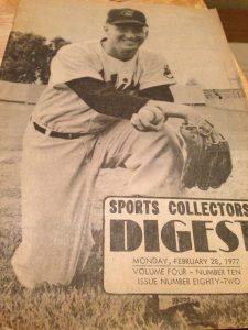 1977 Sports Collectors Digest