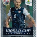 2014 World Cup soccer cards Clint Dempsey