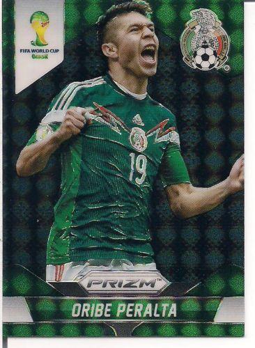 Oribe Peralta 2014 Panini Prizm World Cup Black Refractor  1/1