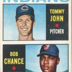 Tommy John rookie card