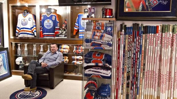 Shawn Chaulk Gretzky memorabilia