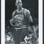 1992 Michael Jordan photo vs Knicks