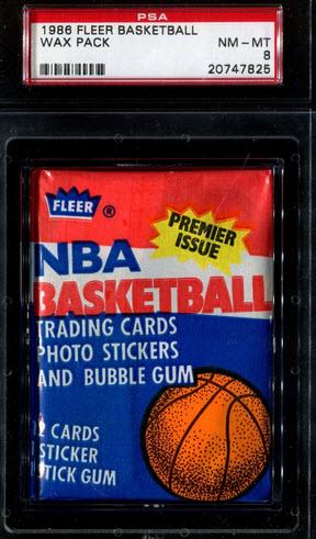 1986-87 Fleer basketball pack