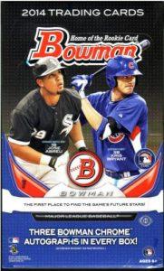 2014 Bowman Jumbo Baseball Box