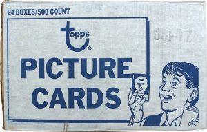 Topps 1977 Baseball Case vending