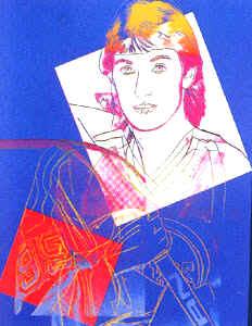 Wayne Gretzky by Andy Warhol, 1984
