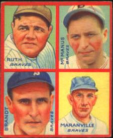 Babe Ruth 1935 Goudey