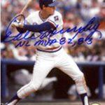 Autographed Dale Murphy photo