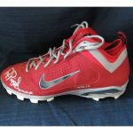 Autographed game-used Albert Pujols cleat