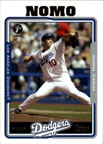 2005 Topps Hideo Nomo