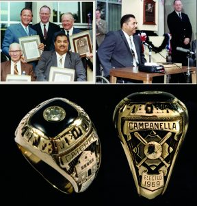 Hall of Fame ring Roy Campanella