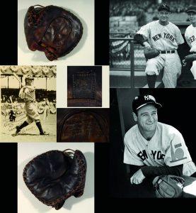 First basemans mitt Lou Gehrig