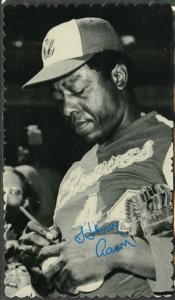 Topps 1974 Deckle Hank Aaron