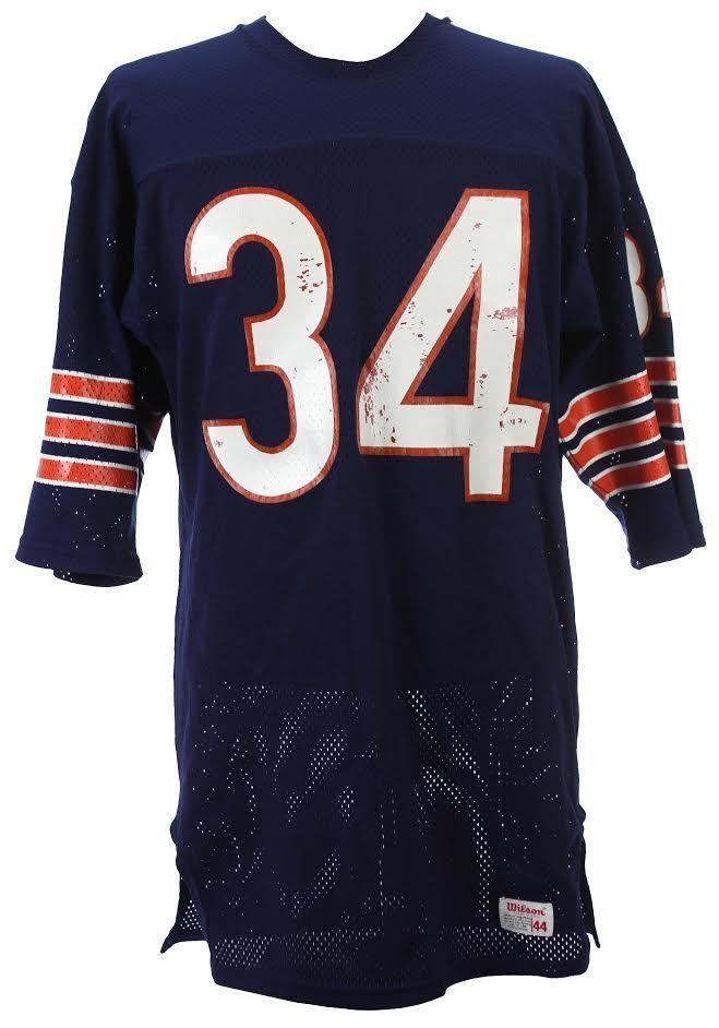 Walter Payton rookie year jersey