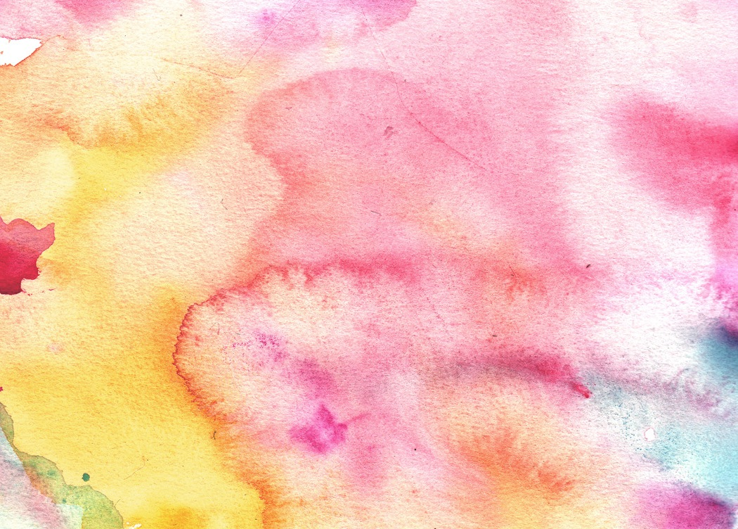 The transparent, watery quality of watercolor paint