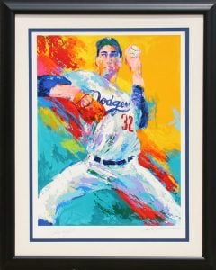 LeRoy Neiman's popular limited edition serigraphs (aka screenprints) are print reproductions of his original paintings.