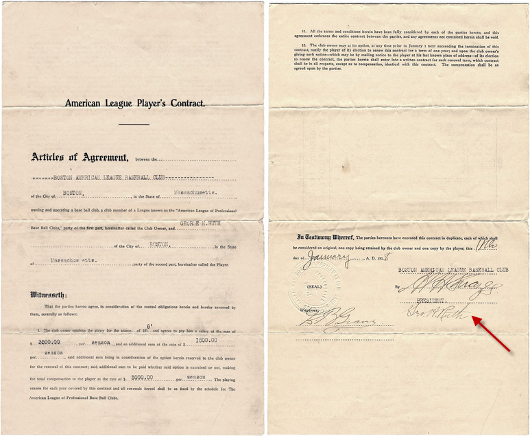 Ruth contract