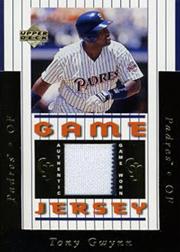 Tony Gwynn 1997 Upper Deck Game Jersey
