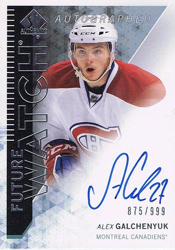 2013-14-NHL-SP-Authentic-Autograph-Future-Watch-Alex-Galchenyuk