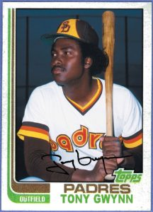 1982 Topps Traded Tony Gwynn Card That Never Was