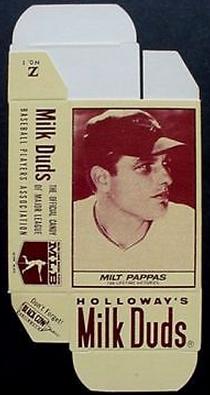 Milt Pappas Milk Duds card 1971