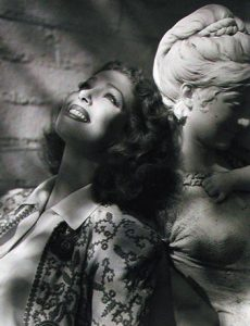 Oversized 1930 movie studio portrait of actress Loretta Young