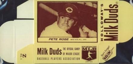 Pete Rose 1971 Milk Duds