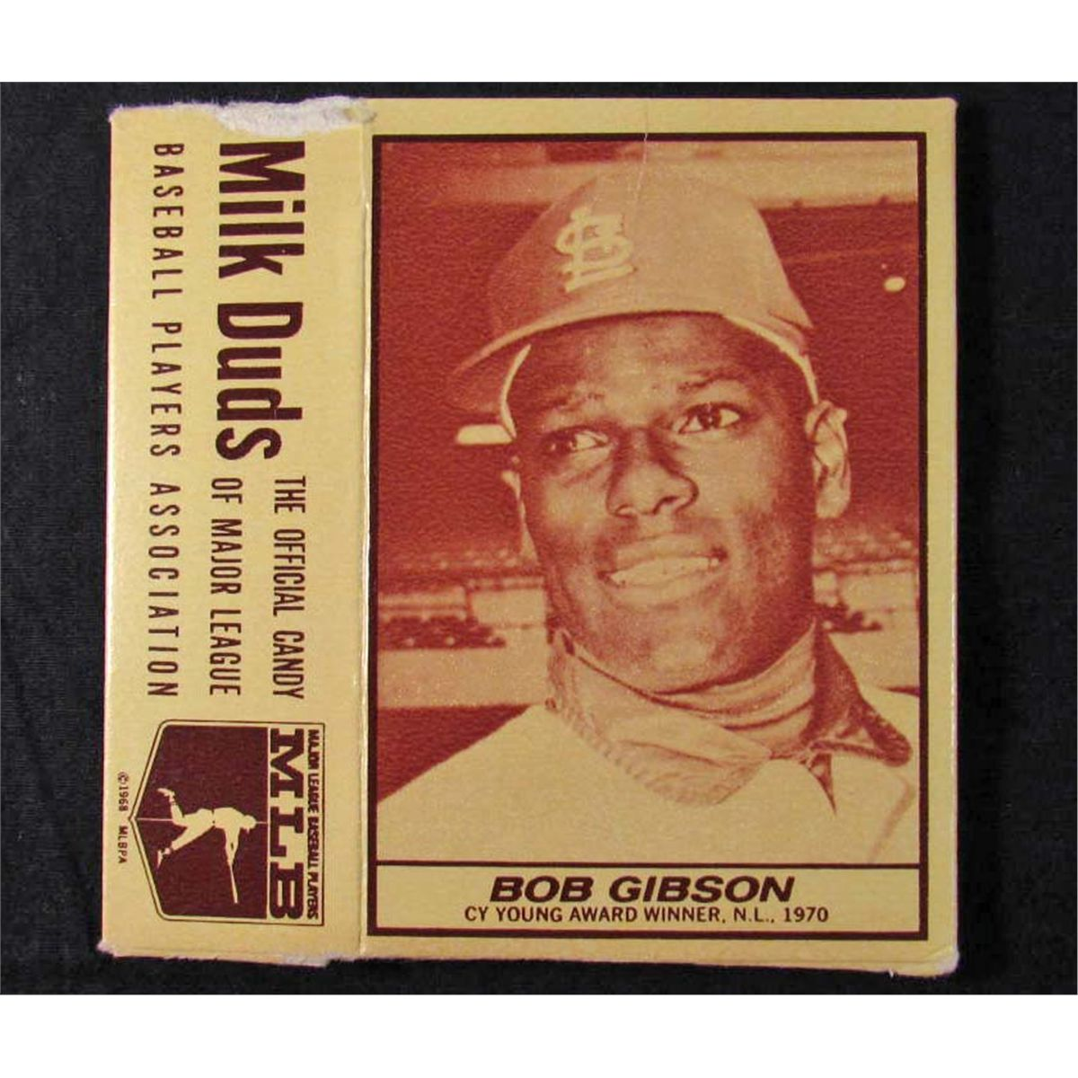1971 Milk Duds Bob Gibson