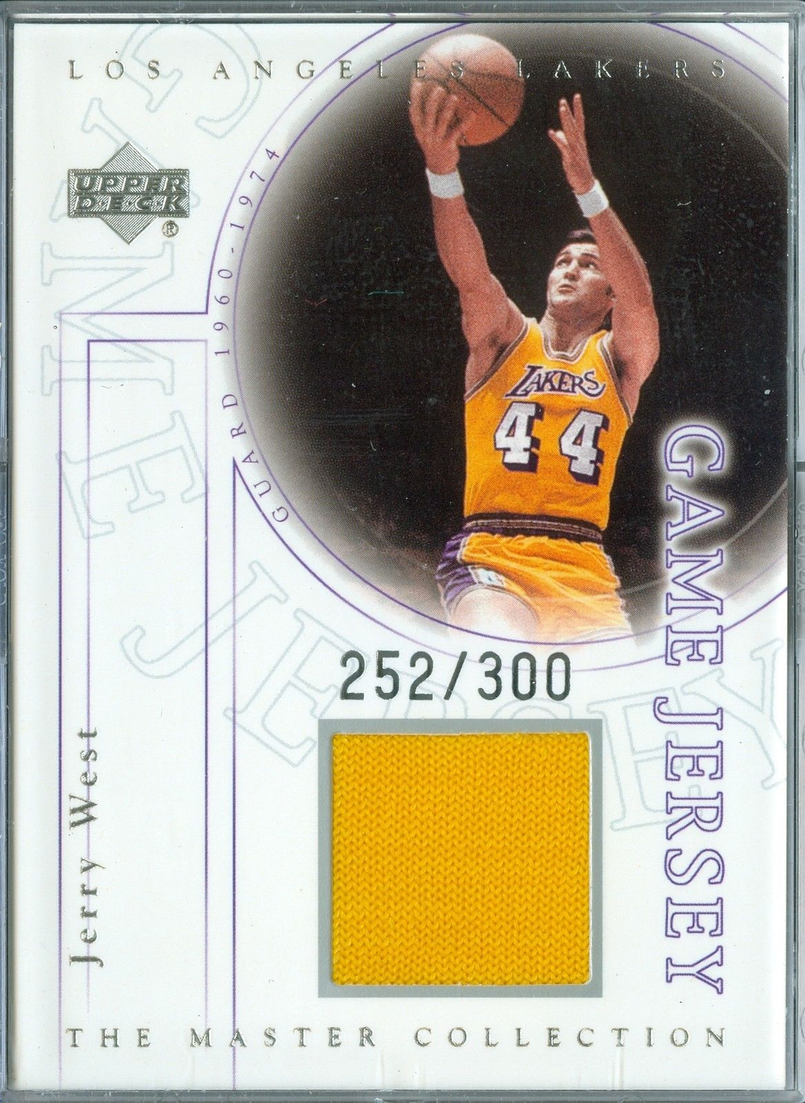 2000 Upper Deck Master Collection Jerry West