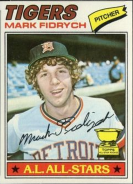 Mark Fidrych rookie card