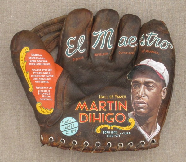 Sean Kane glove art Martin Dihigo